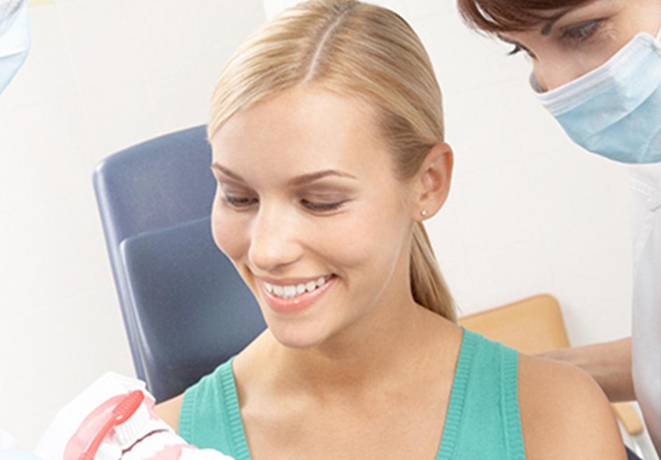 Zahnfleischrückgang