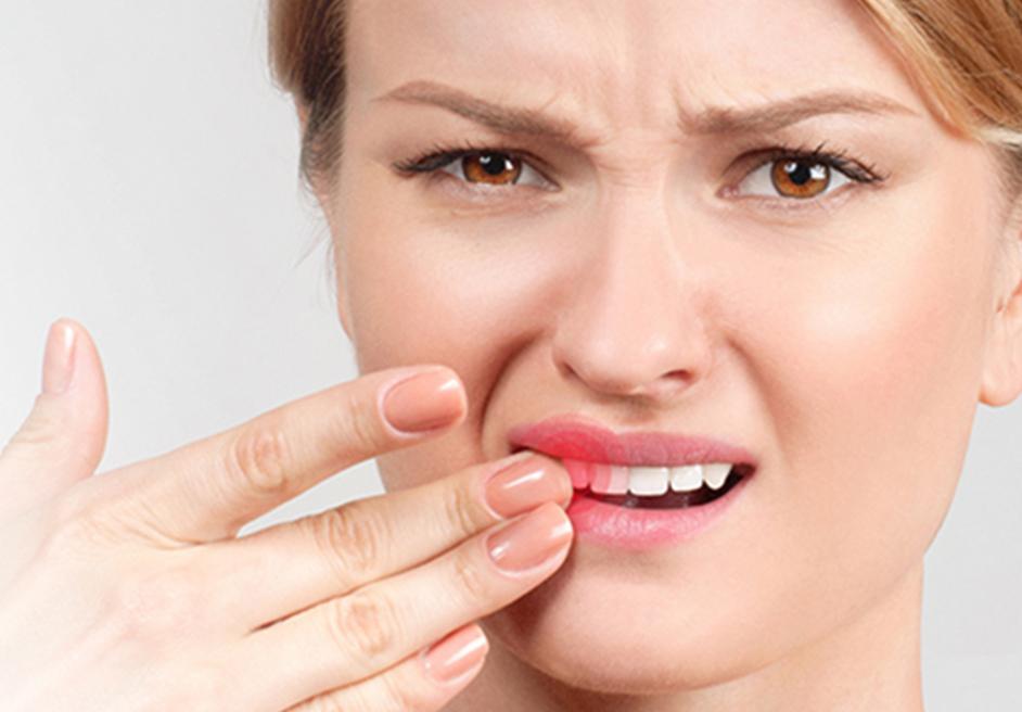 Zahnfleischschmerzen